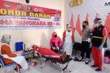 Polres Agam adakan donor darah meriahkan HUT Bhayangkara