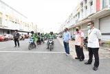 500.000 masker  daribTemasek Singapura telah didistribusikan untuk masyarakat Batam
