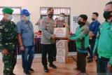 Tukang ojek terima bantuan COVID-19 dari Polres Morowali Utara