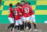Piala FA, MU butuh babak tambahan untuk lewati 10 pemain Norwich