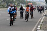 Kemenhub akan siapkan regulasi keselamatan pengguna sepeda, bukan mengatur pajak sepeda