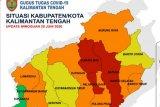 Tiga daerah di Kalteng dikategorikan tinggi terkait risiko kenaikkan kasus COVID-19