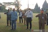 Pengunjung Candi Prambanan dari luar daerah wajib membawa surat sehat