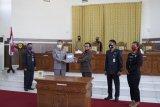 Bupati dan DPRD Gumas setujui Raperda Pertanggungjawaban APBD 2019