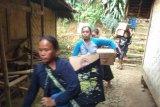 Ribuan warga Badui senang terima paket sembako dari Polri
