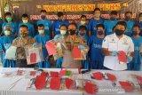 Puluhan penjudi di berbagai wilayah Jateng diamankan dalam sepekan