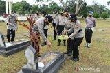 Kapolres Inhu pimpin ziarah makam pahlawan