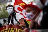 Petugas medis di Prancis protes kondisi kerja 'melelahkan' selama pandemi