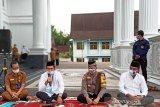 Pejabat  di kantor Bupati Barito Utara akan  di  swab