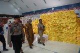 Polres Yahukimo cek kesiapan distribusi logistik bansos COVID-19