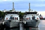Dua unit Kapal Angkatan Laut baru perkuat patroli di perairan Sulawesi