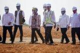 Presiden tinjau kesiapan pengembangan Kawasan Industri Terpadu Batang