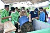 Pusri bangun instalasi pengolahan sampah Rumah Komposting di Ogan Ilir