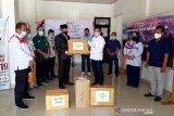 Tangani COVID-19, Satgas Bencana Nasional BUMN serahkan bantuan kepada Pemprov Kalteng