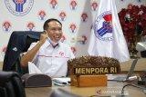 Menpora mengungkapkan keinginan Presiden Jokowi timnas tembus babak penyisihan Piala Dunia U-20