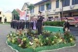 Polda Lampung gelar upacara kenaikan pangkat
