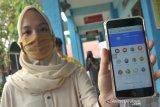Penerimaan Sekolah Dasar dengan sistem daring di Palembang