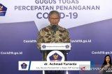 Angka kesembuhan nasional COVID-19 capai 43,2 persen