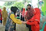 Ketua TP PKK Lampung Tengah kembali sosialisasikan penerapan  normal baru