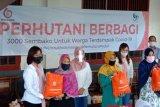Ikatan Istri Karyawan Perhutani bagikan 1.000 paket sembako