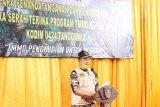 Wakil Bupati Pringsewu buka TMMD ke 108 tahun 2020