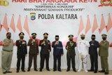Gubernur Hadiri Upacara HUT ke-74 Bhayangkara