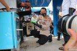 Satgasus Polri memusnahkan 1,2 ton sabu
