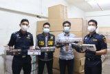Bea Cukai Sumut gagalkan panyelundupan ratusan kotak rokok ilegal