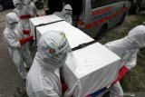 Angka kematian COVID-19 di Sumsel 101 kasus