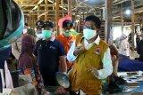 Pedagang di Sukamara ikuti tes cepat massal