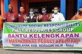 Beri bantuan perlengkapan bagi MPA, Bupati Inhil apresiasi dua grup perusahaan