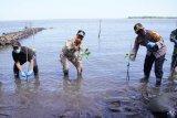 Wagub Sulsel edukasi protokol kesehatan di wilayah pesisir
