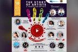 Sandiaga dan Syahrul Yasin Limpo meriahkan konser PWI