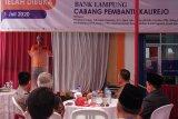 Bupati Lampung Tengah resmikan Bank Lampung KCP Kalirejo