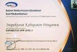 Pringsewu raih sertifikat kapabilitas level 3 SPIP dan APIP