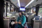 Protokol kesehatan dalam bus Gatotkaca