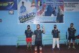 60 peserta turun ajang turnamen bulu tangkis Polda Papua