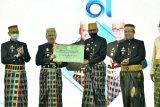 Pemprov Sulsel serahkan bantuan keuangan ke Pemkab Maros Rp25 miliar