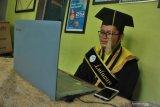 UIN Palembang gelar wisuda secara daring, wisudawan sebut pengalaman tak terlupakan