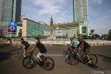 Kemenhub akan lindungi keselamatan para pesepeda dengan Permenhub