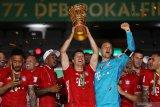 Bayern menangi gelar keduanya  setelah juarai Piala Jerman