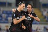 Dwigol Ibrahimovic bantu Milan perpanjang catatan positif di era pandemi