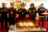 Perayaan kejutan ulang tahun ke-47 Gubernur Kalteng