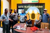 Polisi ringkus dua terduga pengedar narkoba di Palu