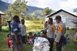 Lima distrik di Lanny Jaya Papua terima bantuan beras Polri