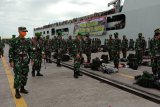 Pangdam XIV/Hasanuddin sambut Satgas Yonif 721/Makkasau penjaga perbatasan
