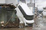 Hampir 40 orang dikhawatirkan tewas akibat banjir di Jepang