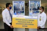 Bank BTN bantu wastafel portabel untuk Undana Kupang