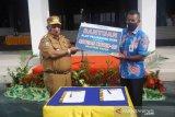 Pemprov terima bantuan APD dari Bank Papua
