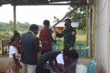 TNI imbau warga perbatasan Indonesia-PNG patuhi protokol kesehatan beribadah